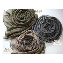 New Coming 4 colors graffiti zebra rectangle scarf shawl C-0020