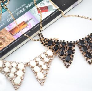 Korean Style Rhinestone Gem Butterfly shape collar necklace N-2263