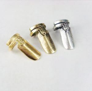 simple Punk style  3 pieces 3colors Fingernail Ring R-1022