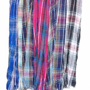 C-0004 New Coming Fashion Strip Pane Design Shawl Wrap Scarf Color Choose