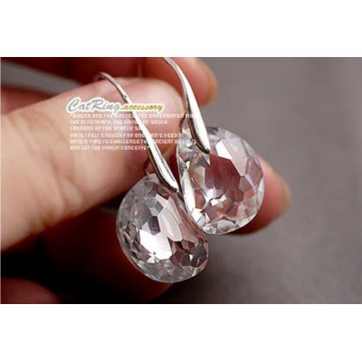E-0264 Charming New Coming Shining Clear Crystal Earring Ear Stud