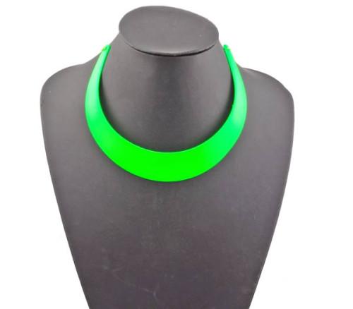 N-2101 Fashion Punk style arc crescent Shape collar necklace