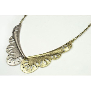 New Arrival vintage Style hollow out wing collar choker  Necklace N-2815