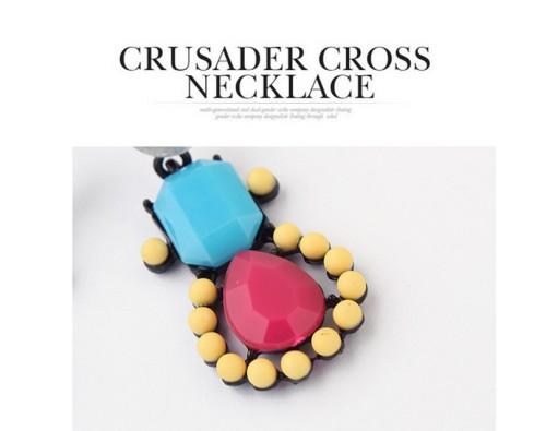 European style colorful resin gem rhinestone candy stud earrings E-0680