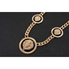 New  Fashion Style Vintage Lion Head Statement Necklace bracelet  Set S-0071