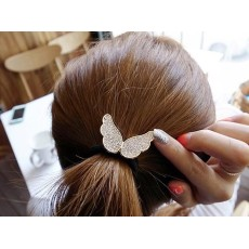 Lovely small set auger angel wings elastic Fashion hair band accessories F-0114