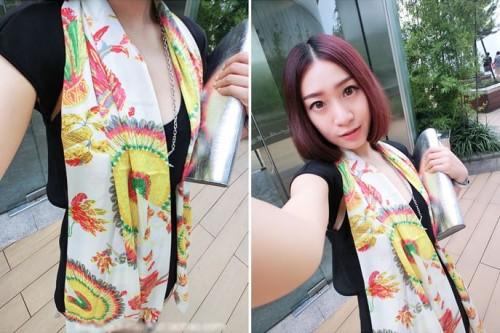 Fashion phoenix Scarf  Wrap for Women C-0047