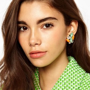 E-2074 NEW Luxury Dangles Stud Earrings Europe Jewelry for Women