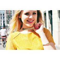 N-1648 New Arrival Korea Style Gold/Silver Plated Alloy Snake Choker Necklace