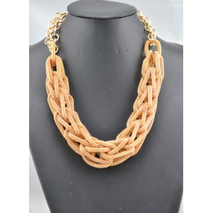 N-1661 New Arrival European Fashion Snake Chain Linked Chain Pendant Choker Necklace
