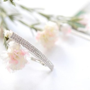 F-0135 Fashion Korea Charming Silver Gold Plated Full Rhinestone Hiar Clip