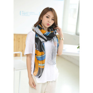 C-0072  Cotton Scarf  Flower Infinity Scarf Women Fashion Accessories Chrstmas Gifts Circle Scarf Gift