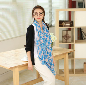 C-0074  New Arrival Famous Brand Cashew Geometry Design Long Scarves Shawl 4 Colors Women