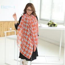 C-0074  New Arrival Famous Brand Cashew Geometry Design Long Scarves Shawl 4 Colors Women