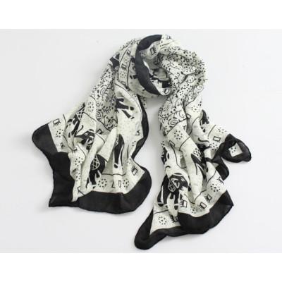 C-0077  New Arrival Famous Brand Elephant Design Scrawl Long Rectangle Scarves Shawl 5 Colors Women 180cm*110cm