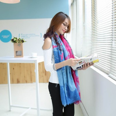 C-0079  New Arrival Famous Brand Charming Twill Pachira Scarves Shawl 3 Colors Women 180cm*100cm
