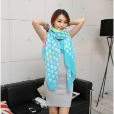 C-0080  New Arrival brand Love Heart scarves Shawl for woman winter warm scarf
