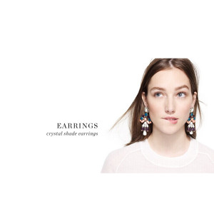 E-3255  European style bronze alloy colorful crystal shade bead drop long dangle statement luxury earrings 2 colors