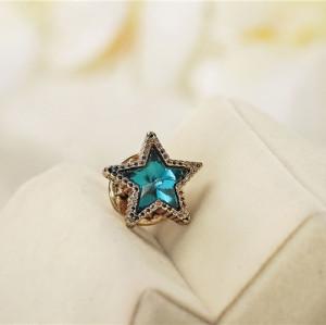 P-0147 Korean style shirt collar mini star brooch badge retro suit pin brooch buckle