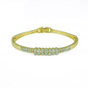 B-0436 New alloy gold bangle simple 2 style  fashion jewelry gift