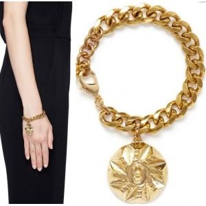 B-0472 Turquoise bracelet exaggerated wild fashion for men and women bracelets shaped gemstone bracelet