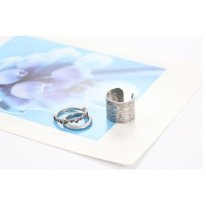 R-1193 Korean jewelry retro alloy diamond flower ring tail ring finger ring 3pc