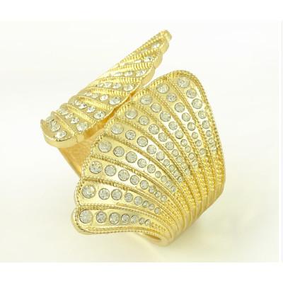 B-0479 Exaggerated Wing Atmosphere Scallop Shell multi-row diamond bracelet Angel Nightclub Stage Opening Bracelet