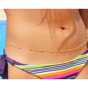 N-5494 European And American summer style fashion women body jewelry sexy bikini belly chains hot-selling brief small alloy balls body chains