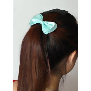 F-0298  New Fashion European Korea Popular Colorful Bowknot Hair Rubber Band Hair Jewelry