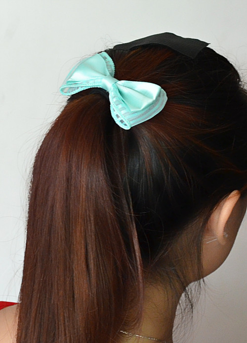 F-0298  New Fashion European Korea Popular Colorful Bowknot Hair Rubber Band Hair Jewelry
