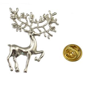 P-0197 New Fashion Silver Gold Plated Lovely Deer  Animal Design Brooch Pin For Women