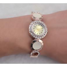 B-0597 New Arrival Design Quartz Watches Luxury Brand Women Bracelet Fashion Gold Plated Rhinestone Montre Femme Watches