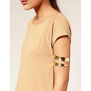 B-0622 Bohemian Tibetan Tribal Vintage Carving Wide Arm bracelet  for Women