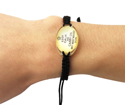 B-0627 Vintage Retro Handmade Bohemia Crystal Beads Adjustable Leather Adjustable Bracelet For Women Men Unisex Jewelry