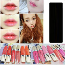 M-0014  Fashion 12 Colors Lipstick Lip Maker Pen Makeup Lipstick Water-based Lip Gloss