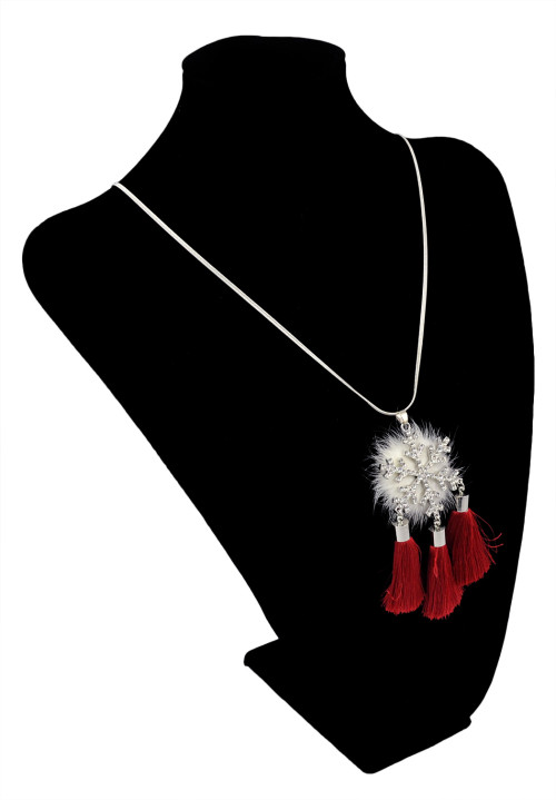 N-5999  2016 Hot Sell Fashion Silver Long Necklaces Pendants Tassel Sweater Women Necklace All Match Necklace Jewelry