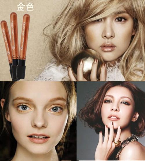 M-0016  Punk vampire style fashion Girls Waterproof Tattoo Magic Color Long Lasting Makeup Lip gross