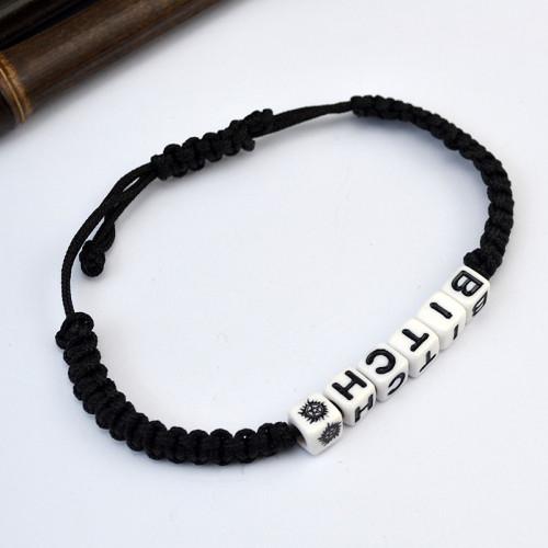 B-0700  Vintage Retro Handmade Bohemia Leather Adjustable Bracelet For Women Men Unisex Jewelry