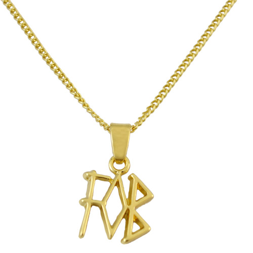 N-6119  Fashion Film FOB Letter Pendant Necklace Gold Chain Adjustable Necklace Women Jewelry