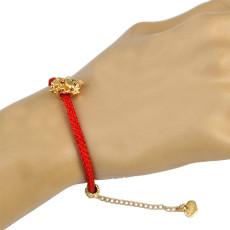 B-0684  Chinese Elements 4 Style cute Monkey Shape red Rope Bracelet for Women Jewelry