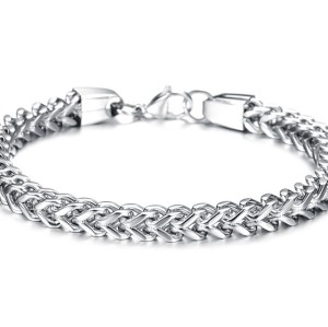 B-0687  Fashion Unisex Jewelry Titanium steel Bracelet