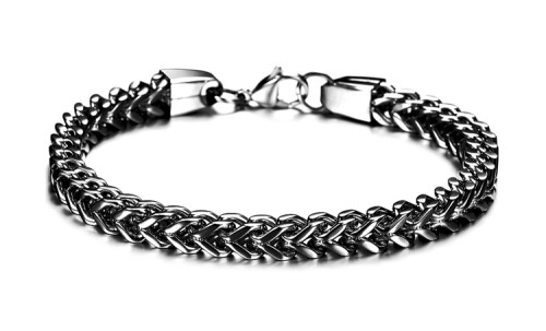 B-0687  Fashion Unisex Jewelry Titanium steel Bracelet