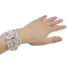 B-0734Bohemian Tibetan Style Fashion Bracelet Adjustable Handmade Resin Beads Wide Bracelets For Women Jewelry Free Shipping