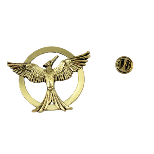 P-0328 Fashion Vintage Antique Bronze The Hunger Games Bird Brooches Alloy Inspired Brooch Pins for Women&Men