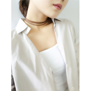 N-6354 bohemain Fashion style gold plated Leather Chain collars Necklace Jewelry for women
