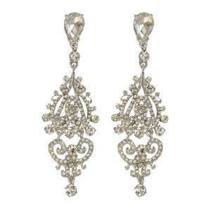 E-3836 Bohemian Fahsion 4 Colors Dangle Earring Crystal Rhinestone Luxry earring for women Jewelry