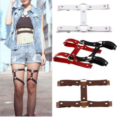 B-0782 Bohemian Vintage style leather collars silver plated brown & black Bracelet for Women Jewelry