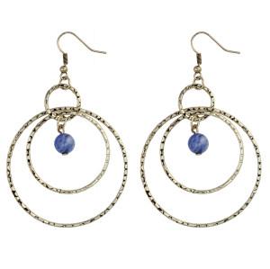 E-3881  Vintage Silver Alloy Long Big Drop Dangle Fish Hook Earrings Hoop Earring for Women