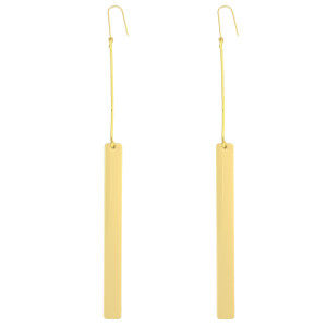 E-3884 Fashion European Style Gold Plated Alloy Long Tassel Dangle Earrings For Women Jewelry