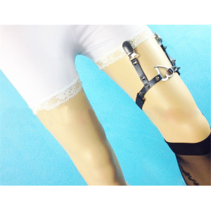 B-0806 Newest Fashion Bohemian  style Black /White Leather Chain  Bracelets & Bangles for Women &Girl Jewelry can be Adjustable